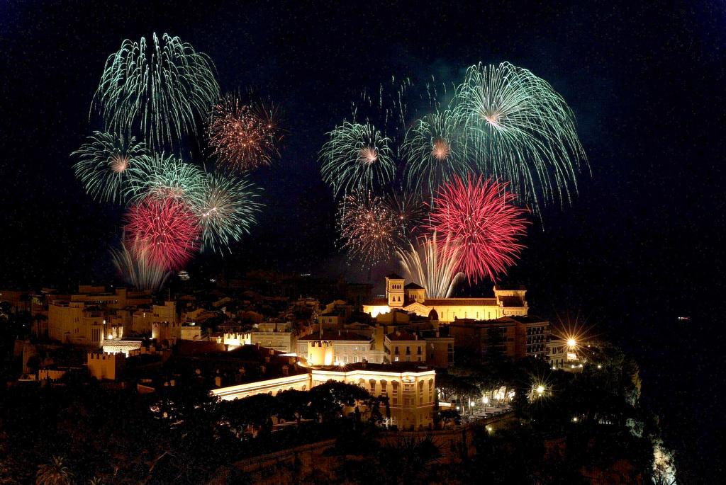 Image result for monaco fireworks