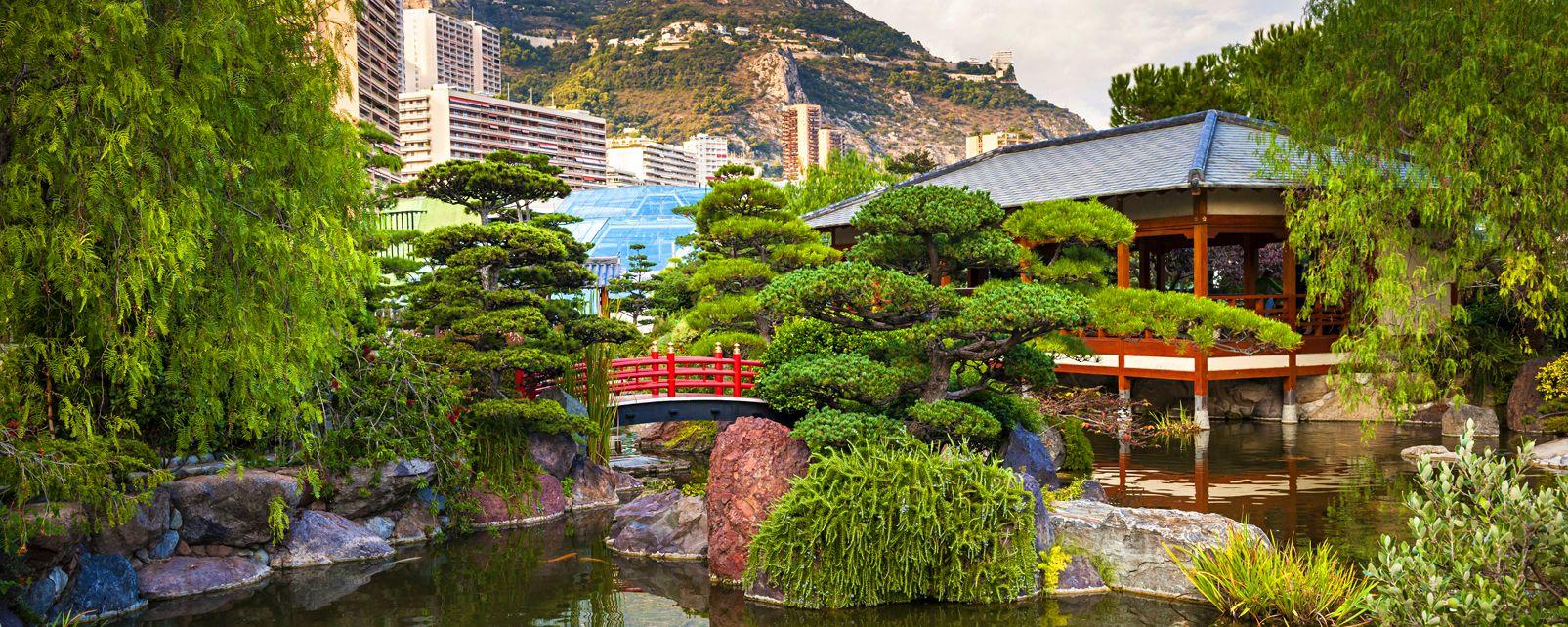 Previous Next. I giardini. Il Giardino Giapponese