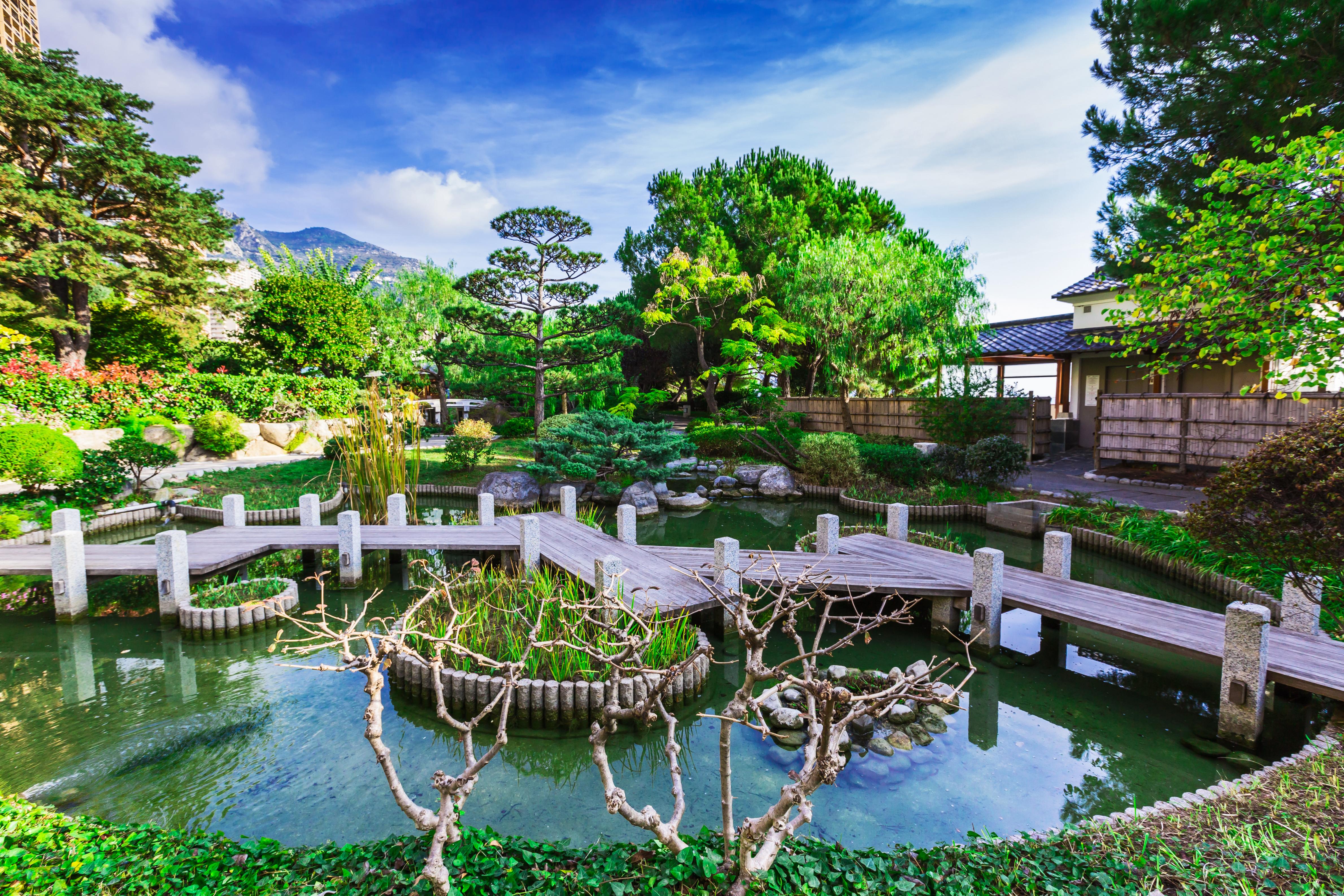 Previous Next. The Gardens. The Japanese Garden